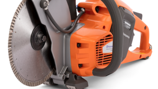 Husqvarna's New K535i Power Cutter Offers Battery-Powered Co