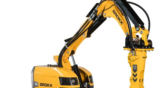 Brokk 200 Offers Increased Safety, Versatility, and Productivity in Mining Operations