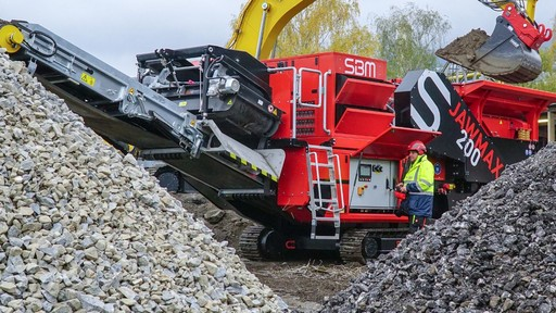 SBM Sets New Standards With JAWMAX 200 – The Most Powerful Mobile Jaw Crusher in Its Class
